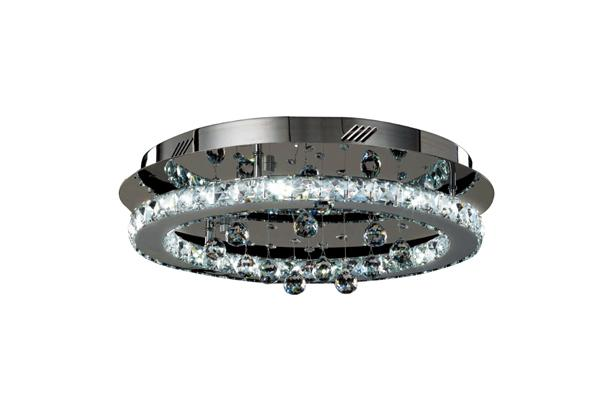 LED 24W Round Crystal Ceiling Light
