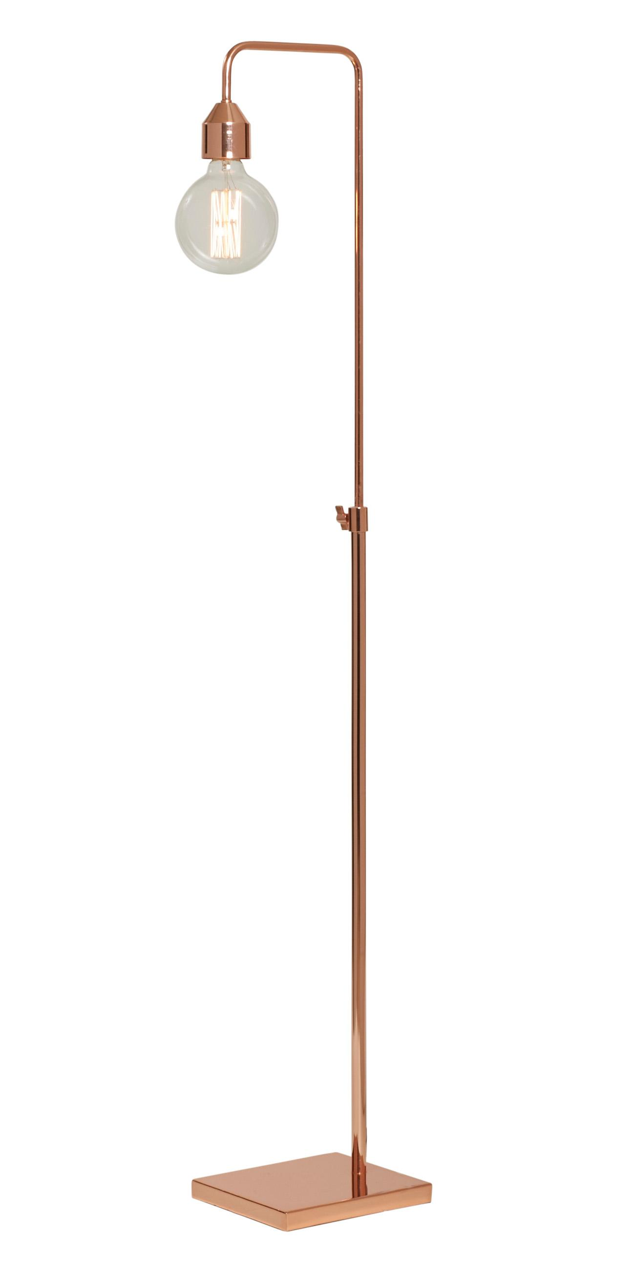 lamps copper table bend lamp