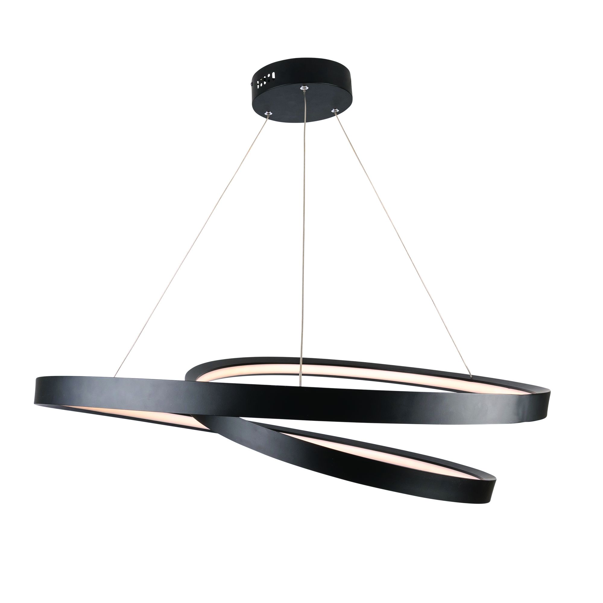 Armstrong 45w Led Large Black Pendant Pendants Modern Product Detail The Home Of Lights