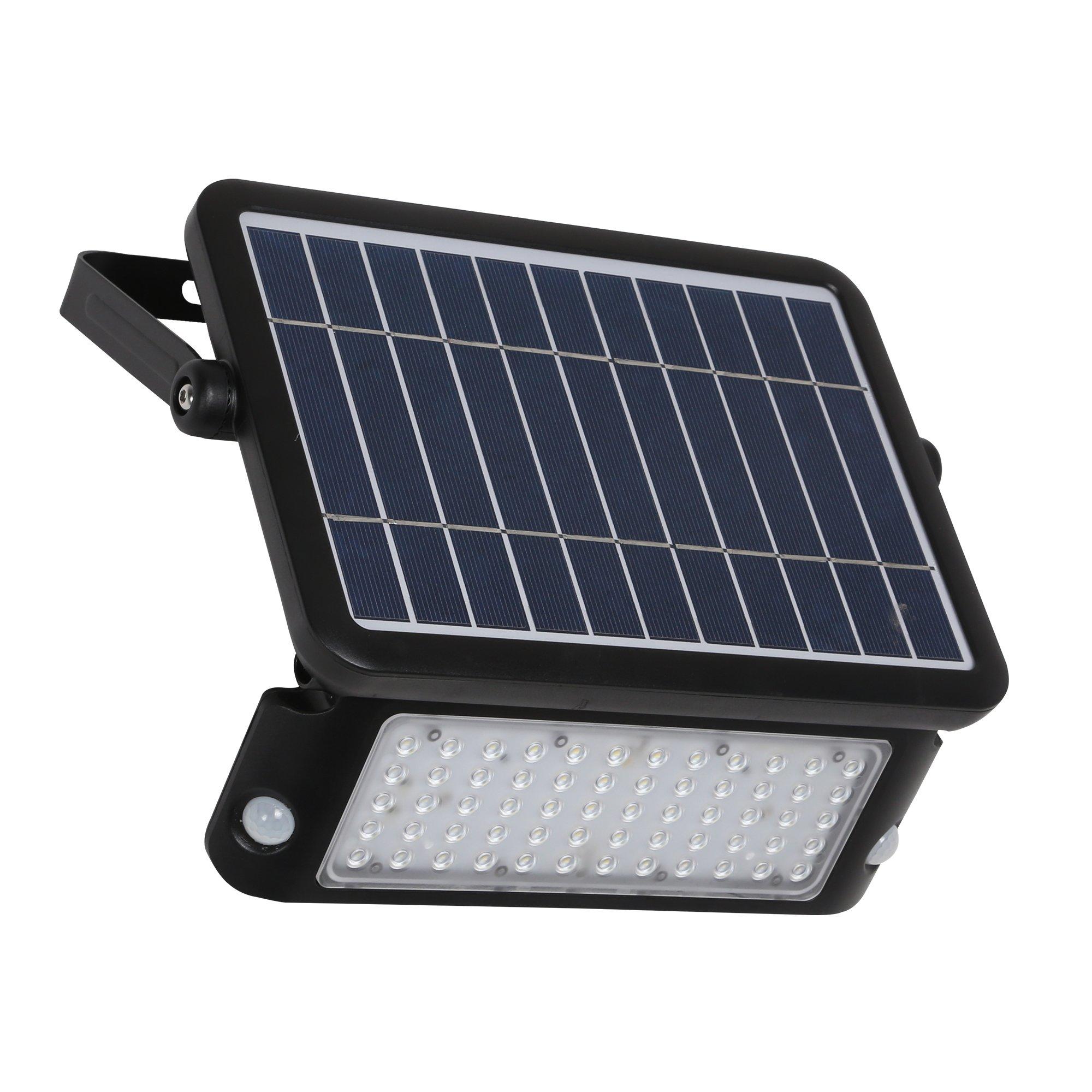 DEFENDER 10 Watt LED Solar Floodlight