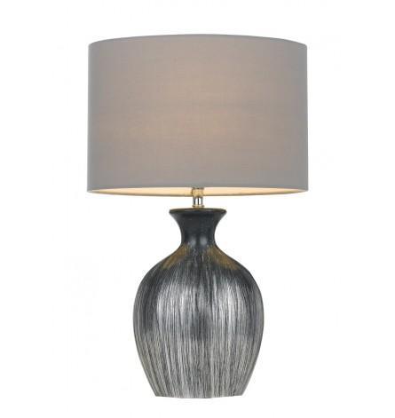 Panto table lamp black silver grey lamps table lamps panto table lamp black silver grey mozeypictures Choice Image