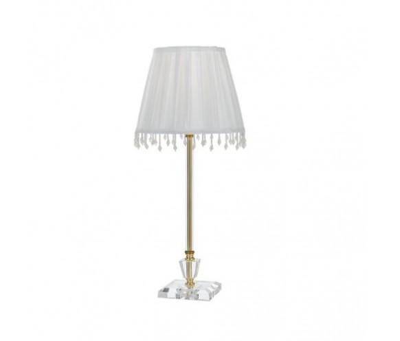 WHITNEY TABLE LAMP   GOLD / WHITE