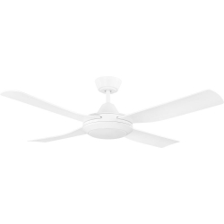 BONDI 48 WHITE LED 18W CCT AC ABS FAN - Click for more info