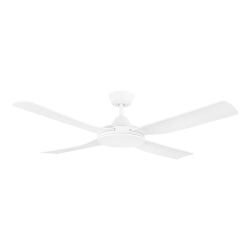 BONDI 52 WHITE AC ABS FAN - Click for more info