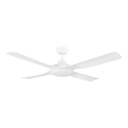 BONDI 52 WHITE LED 18W CCT AC ABS FAN - Click for more info