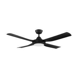 BONDI 52 BLACK LED 18W CCT AC ABS FAN - Click for more info