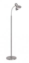 Ben Floor Lamp - Brush Chrome - Click for more info