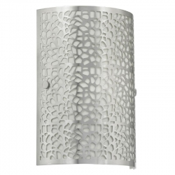 ALMERA 1LT WALL LIGHT - Chrome - Click for more info