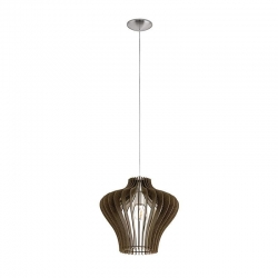COSSANO 2 PENDANT - BROWN 380mm - Click for more info