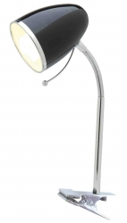 Sara Clamp Lamp - Black - Click for more info