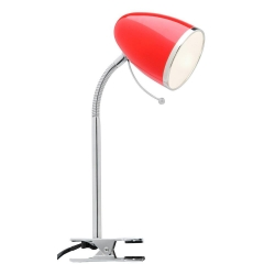 Sara Clamp Lamp - Red - Click for more info