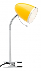 Sara Clamp Lamp - Yellow - Click for more info