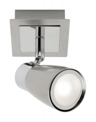 Alecia 1Lt Spot - Brushed Chrome - Click for more info