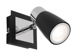 Alecia 1Lt LED Spot - Black - Click for more info