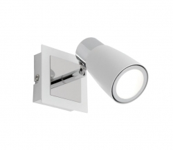 Alecia 1Lt LED Spot - White - Click for more info