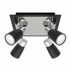 Alecia - 4Lt Spotlight Plate - Black - Click for more info