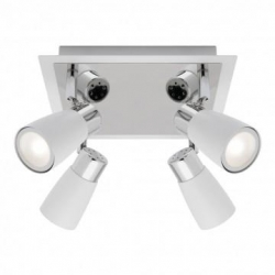 Alecia - 4Lt Spotlight Plate - White - Click for more info