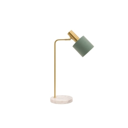 ADDISON Jade / White Marble Table Lamp - Click for more info