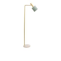 ADDISON Jade / White Marble Floor Lamp - Click for more info