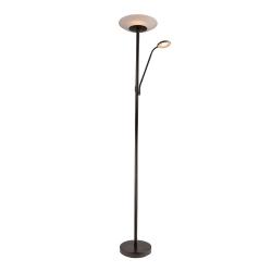 EMILIA LED M & C Floor Lamp - Matt Black - Click for more info