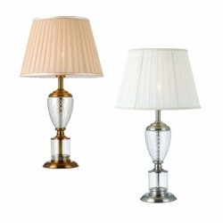 ADAIR Table Lamp - Nickel - Click for more info
