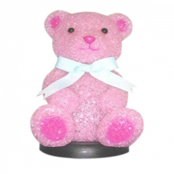 PINK BEAR KIDS TABLE LAMP - Click for more info