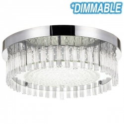 ANDELA Round LED Oyster 5000K - Click for more info
