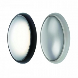 ANDRA LED Oval Bunker - Silver - Click for more info