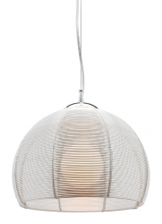 Arden 1Lt Pendant - Silver - Click for more info
