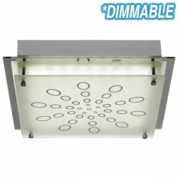AZARO SQUARE LED 20w Oyster - Click for more info
