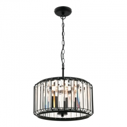 Olympia 3Lt Pendant - Black - Click for more info