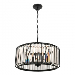 Olympia 4Lt Pendant - Black - Click for more info