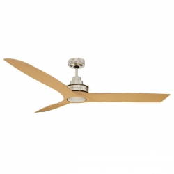 Flinders Fan 1400 NL ABS - Brush Chrome - Click for more info