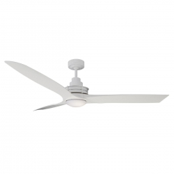 Flinders Fan 1400 LED ABS - White - Click for more info