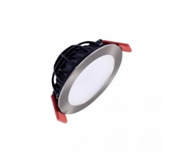 FLAT 100 G2 LED DOWNLIGHT NICKEL WARM - Click for more info