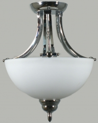 HOUSTON SEMI FLUSH CHROME - Click for more info