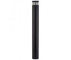Black Bollard Light LED Warm White - Click for more info