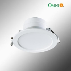 Dimmable 10W LED D/Light - WHT - WW - Click for more info