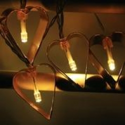 HEART COOKIE CUTTER String Light - WW - Click for more info
