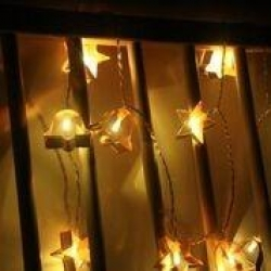XMAS COOKIE CUTTER String Light - WW - Click for more info