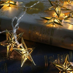 Sting Lights - Gold Star - Click for more info