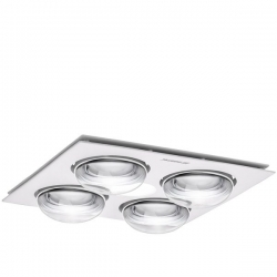 Forme 4 heat 3 in 1 275w 10w led white - Click for more info