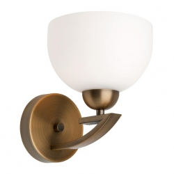 Hepburn - Wall Light - Aged Brass - Click for more info