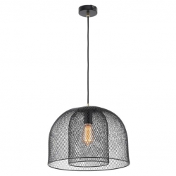 MILFORD Wire Mesh Pendant - Black - Click for more info