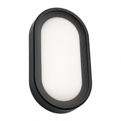 Arena - 9W LED Ext Light 3K - Black - Click for more info