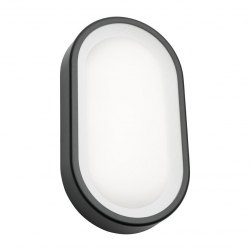 Arena - 9W LED Ext Light 3K - Graphite - Click for more info
