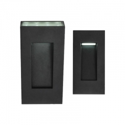 BARKLEY 12W LED Up/down Wall Lamp - Blac - Click for more info