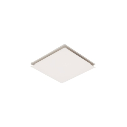 Flow Square 25cm Exhaust Fan - White - Click for more info