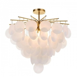 Papino 4 Light Pendant - Gold - Click for more info
