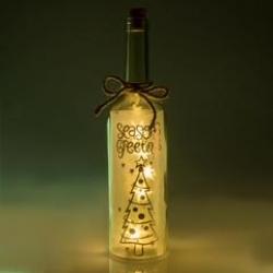 SEASONS GREETINGS - Wishlight Bottle - Click for more info